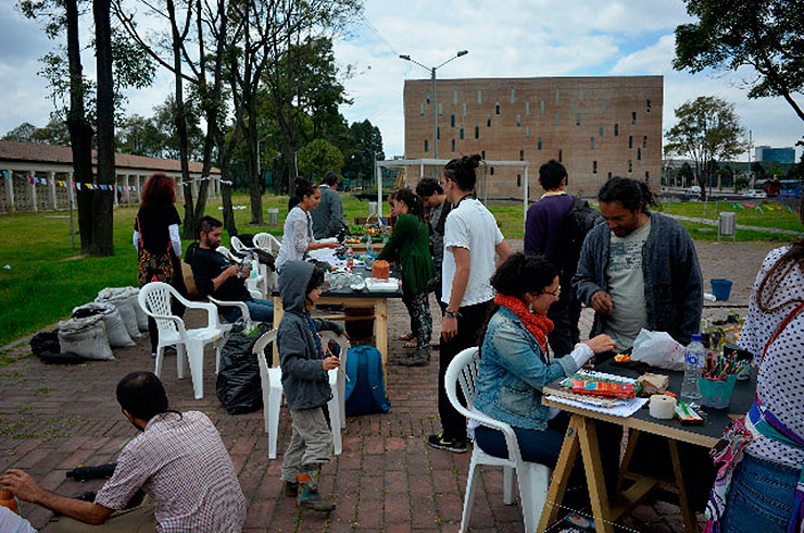 Workshopsituation - Citizen Art Days Memoria Cooperativa